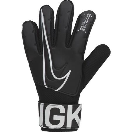 Gants gardien juniot Nike Match noir blanc 2019/20