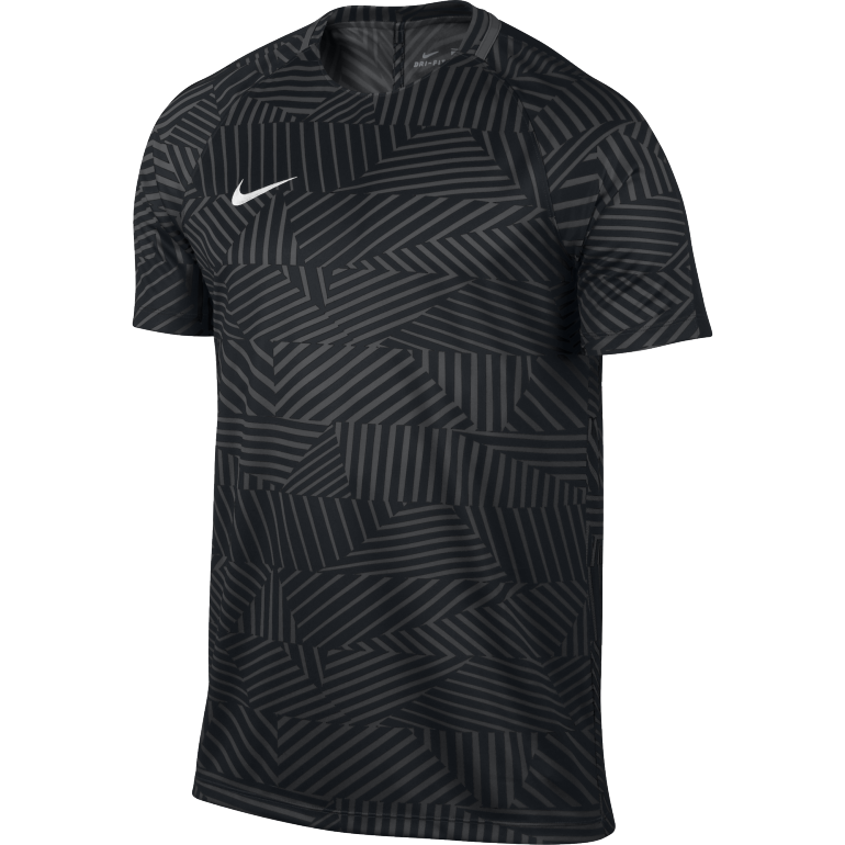 Maillot entraînement Foot Nike noir