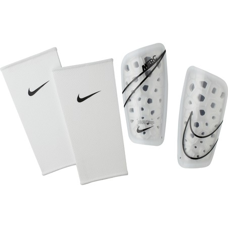 Protège tibias Nike Mercurial blanc 2019/20