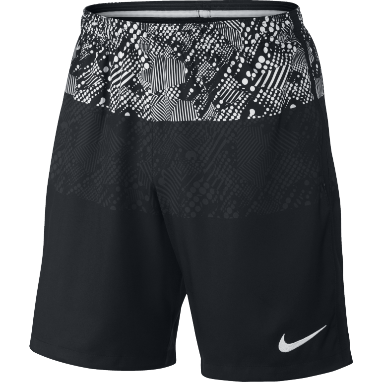 Short entraînement Foot Nike noir et blanc