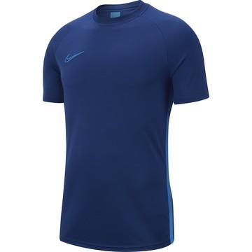 Maillot entraînement Nike Academy bleu foncé 2019/20