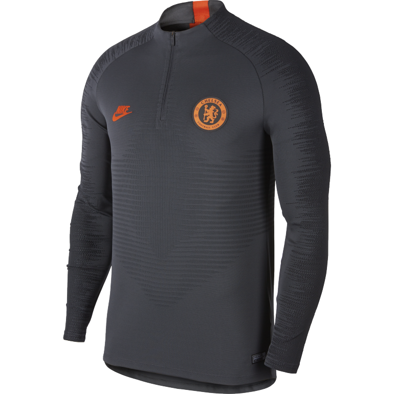 Sweat zippé Chelsea VaporKnit noir orange 2019/20