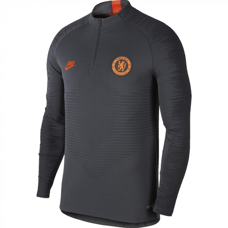 Sweat zippé Chelsea VaporKnit noir orange 2019/20