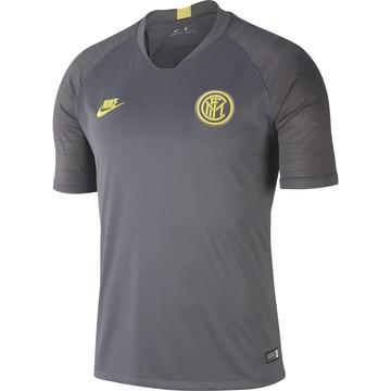 Maillot entraînement Inter Milan gris jaune 2019/20