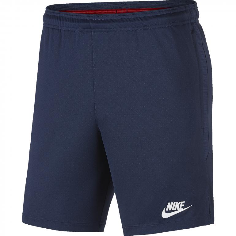 Short entraînement PSG bleu rouge 2019/20