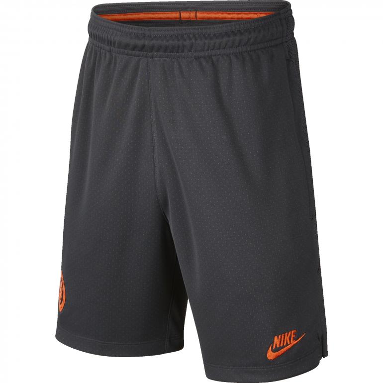 Short entraînement junior Chelsea noir orange 2019/20