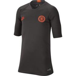 Maillot entraînement junior Chelsea noir orange 2019/20