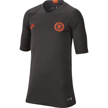 Maillot entraînement junior Chelsea noir orange 2019/20