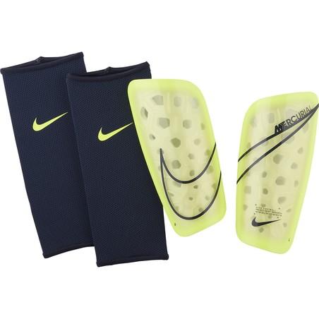 Protège tibias Nike Mercurial Lite jaune 2019/20