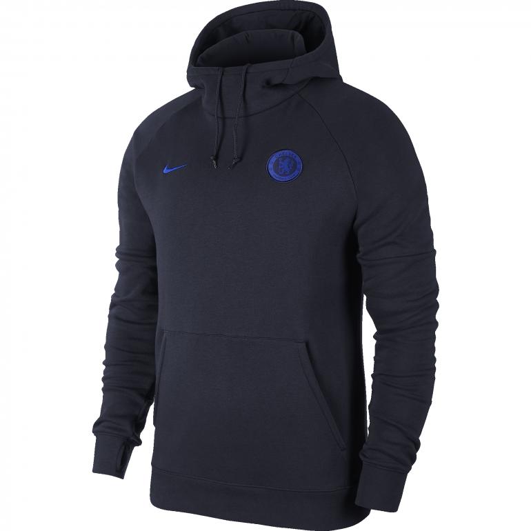 Sweat à capuche Chelsea bleu foncé 2019/20