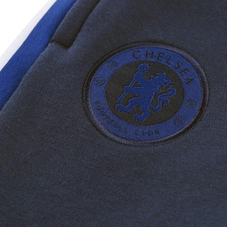 Pantalon survêtement junior Chelsea molleton bleu foncé 2019/20