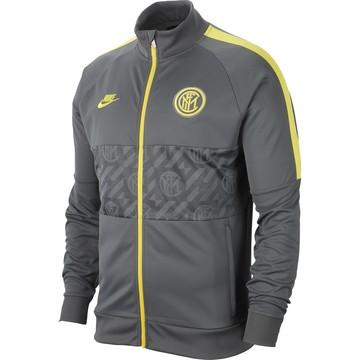 Veste survêtement Inter Milan I96 gris jaune 2019/20