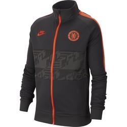Veste survêtement junior Chelsea I96 noir orange 2019/20