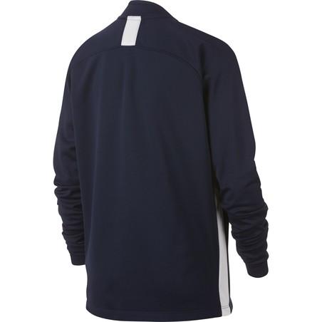 Sweat zippé junior Nike Academy bleu 2019/20
