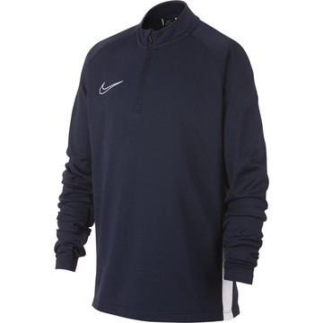 Sweat zippé junior Nike Academy bleu 2019/20