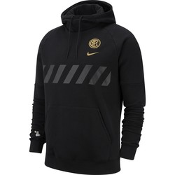 Sweat à capuche Inter Milan noir or 2019/20
