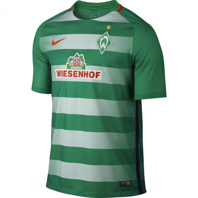 Maillot Werder Brême domicile 2016 - 2017
