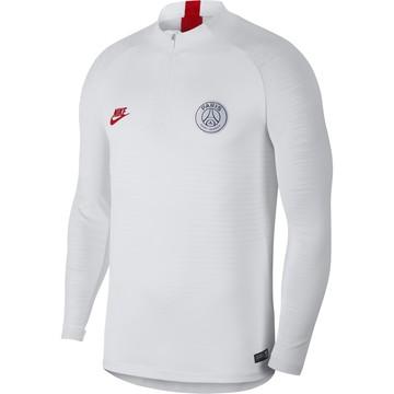 Sweat zippé PSG VaporKnit blanc 2019/20