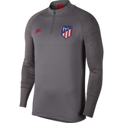 Sweat zippé Atlético Madrid gris rouge 2019/20