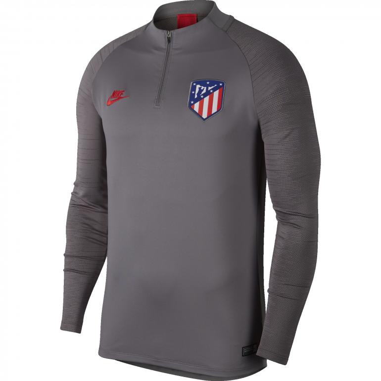 Sweat zippé Atlético Madrid gris rouge 2019/20