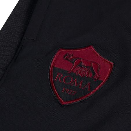Pantalon survêtement AS Roma noir rouge 2019/20