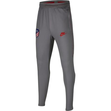 Pantalon survêtement junior Atlético Madrid gris rouge 2019/20