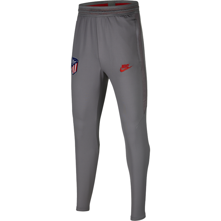 Pantalon survêtement junior Atlético Madrid gris rouge 2019/20