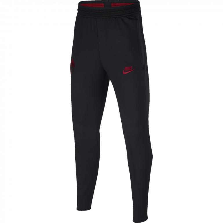 Pantalon survêtement junior AS Roma noir rouge 2019/20