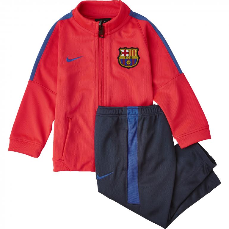 Kit survêtement bébé FC Barcelone rouge 2016 - 2017
