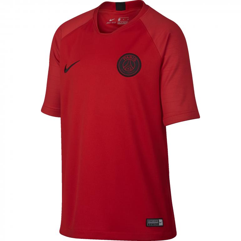 Maillot entraînement junior PSG rouge 2019/20