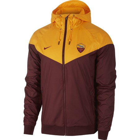 Coupe vent AS Roma jaune rouge 2019/20