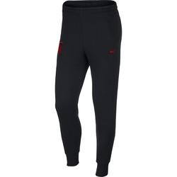 Pantalon survêtement Atlético Madrid noir rouge molleton 2019/20