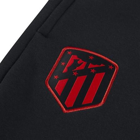 Pantalon survêtement Atlético Madrid noir rouge molleton 2019/20