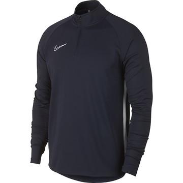 Sweat zippé Nike Academy bleu foncé 2019/20