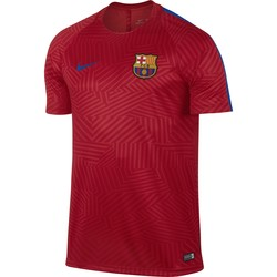 Maillot Avant Match FC Barcelone rouge 2016 - 2017