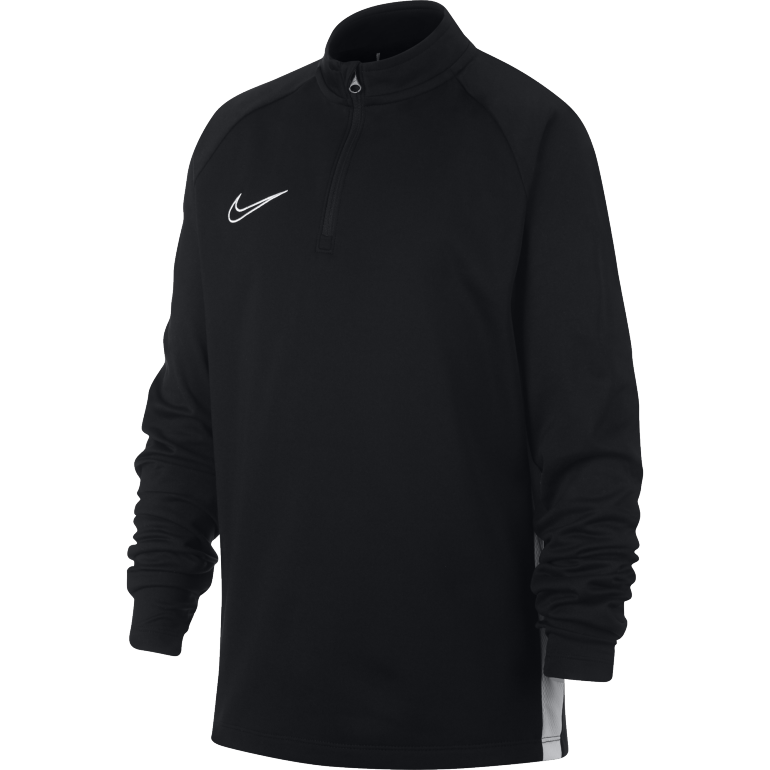 Sweat zippé junior Nike Dry Academy noir 2019/20