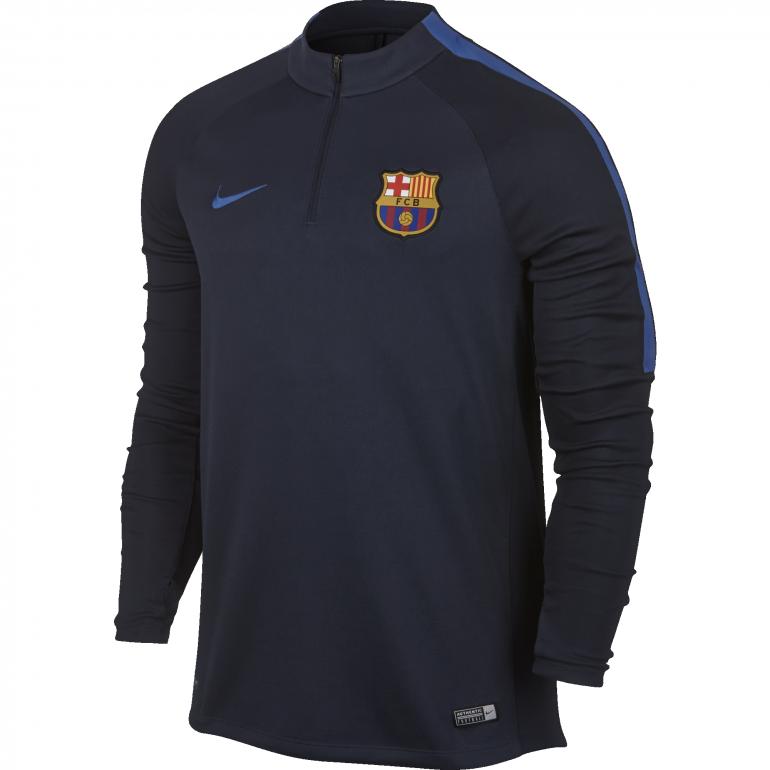 Sweat zippé FC Barcelone bleu 2016 - 2017