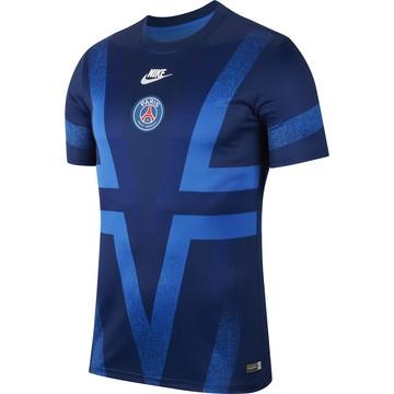 Maillot avant match PSG bleu 2019/20