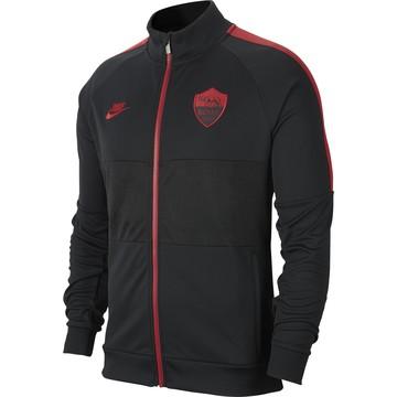 Veste survêtement AS Roma I96 noir rouge 2019/20