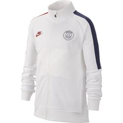 Veste survêtement junior PSG I96 blanc 2019/20