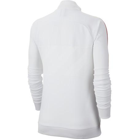 Veste survêtement Femme PSG I96 blanc 2019/20
