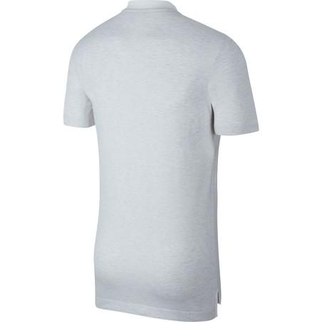 Polo PSG Authentique blanc rouge 2019/20