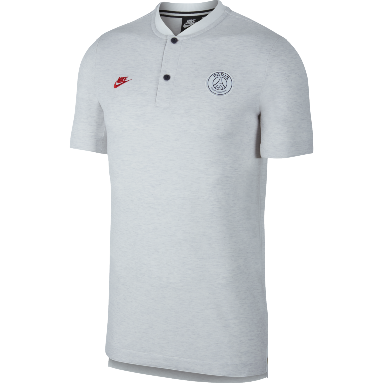 Polo PSG Authentique blanc rouge 2019/20