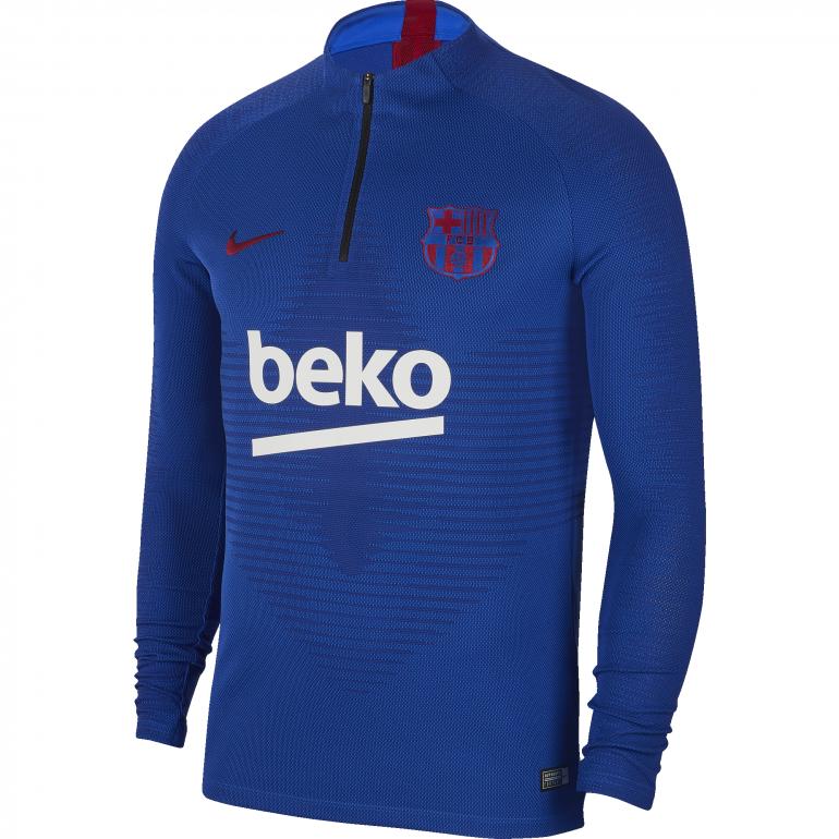Sweat zippé FC Barcelone VaporKnit bleu 2019/20