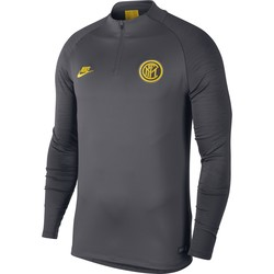 Sweat zippé Inter Milan gris jaune 2019/20