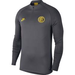 Sweat zippé Inter Milan gris jaune 2019/20