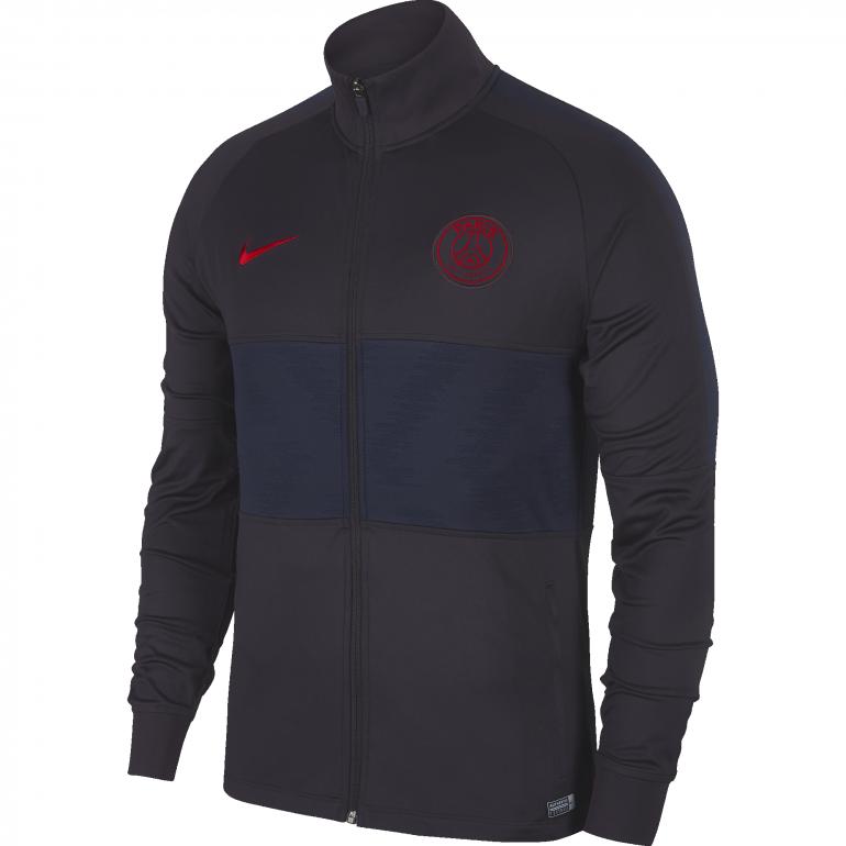 Veste survêtement PSG noir rouge 2019/20