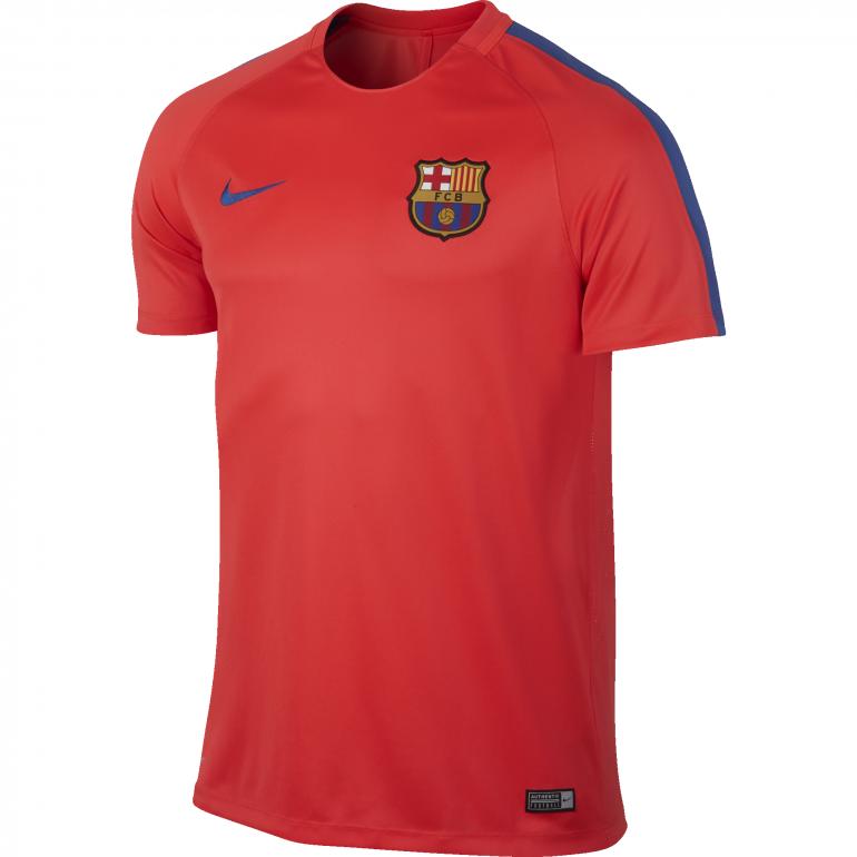 Maillot entraînement FC Barcelone rouge 2016 - 2017