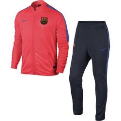 Ensemble Survêtement FC Barcelone haut rouge bas bleu 2016 - 2017