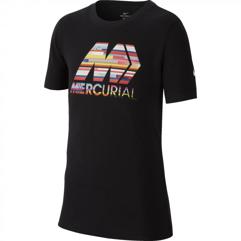 T-shirt junior Nike Mercurial noir 2019/20